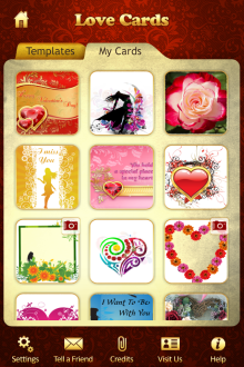 Ecard express iphone ipad android application for personal and greeting m4hsunfo